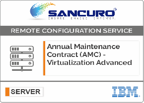 Annual Maintenance Contract (AMC) For Comprehensive Virtualization Services For IBM Server