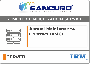 Annual Maintenance Contract (AMC) For Basic Configuration Services for IBM Server