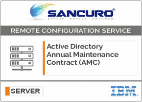 Active Directory Annual Maintenance Contract (AMC) FOR IBM SERVER