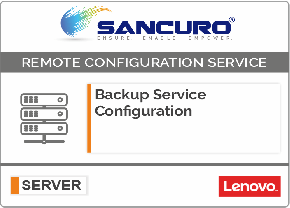 Backup Service Configuration For LENOVO Server