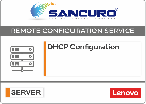 DHCP Configuration For LENOVO Server