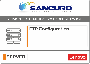 FTP Configuration For LENOVO Server