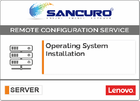 Operating System Installation on LENOVO  Server