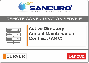 Active Directory Annual Maintenance Contract (AMC) FOR Lenovo SERVER