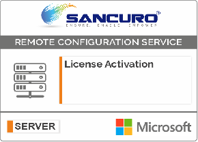 Microsoft SQL License Activation
