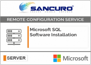 Microsoft SQL Software Installation on Server
