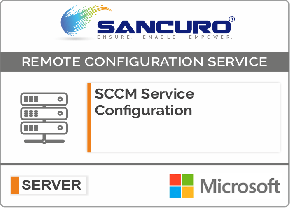 SCCM (System Center Configuration Manager) Service Configuration For Microsoft Server