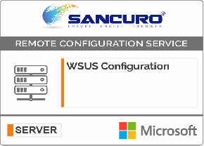 WSUS (Windows Server Update Service) Configuration For Microsoft Server