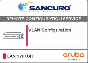 VLAN Configuration in Aruba L2 LAN Switch