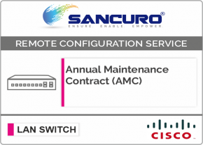 Annual Maintenance Contract (AMC) For CISCO L2 LAN Switch For Model Series C3650
