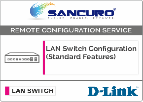 D-LINK L2  LAN Switch Configuration (Standard Features)