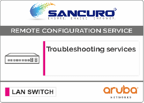 Aruba L3 LAN Switch Troubleshooting services For Model Series 2930M