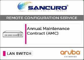 Annual Maintenance Contract (AMC) for Aruba L3 LAN Switch