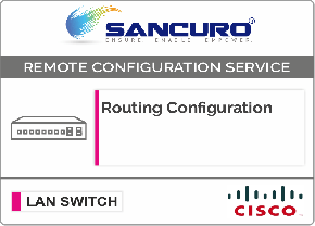Routing Configuration in Cisco LAN Switch L3