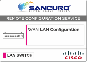 WAN LAN Configuration For CISCO LAN Switch L3 For Model Series SF300, SG300, SF350, SG350