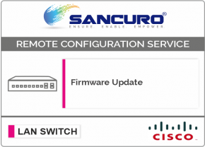 Firmware Update for CISCO L3 LAN Switch