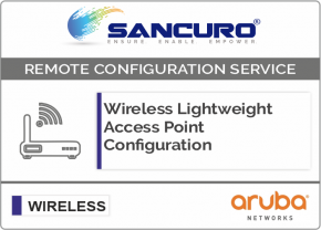 Aruba Lightweight Wireless Access Point Configuration