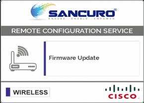 Firmware Update for CISCO Lightweight Wireless Access Point