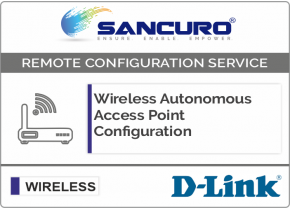 D-Link Autonomous Wireless Access Point Configuration