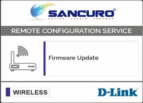 Firmware Update for D-LINK Autonomous Wireless Access Point