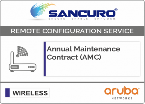 Annual Maintenance Contract (AMC) For Aruba  Wireless Controller