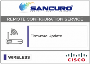 Firmware Update for CISCO Wireless Controller